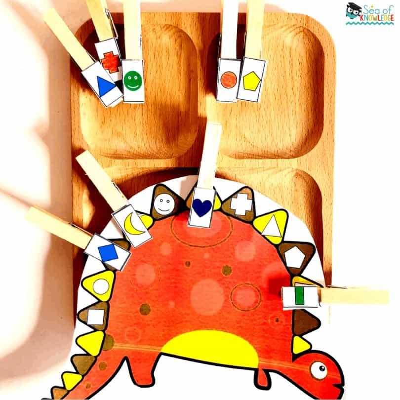 Dinosaur Activities Preschool Centers and Fine Motor Activities Age 3+