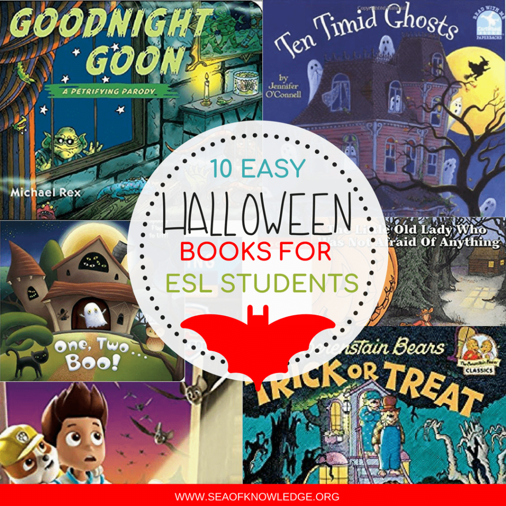It's not such an easy task to find books that ESL kids can benefit from! These Halloween Books for Kids in an ESL setting will get your kiddos READING! #reading #ESL #teachers #booksforkids #halloween