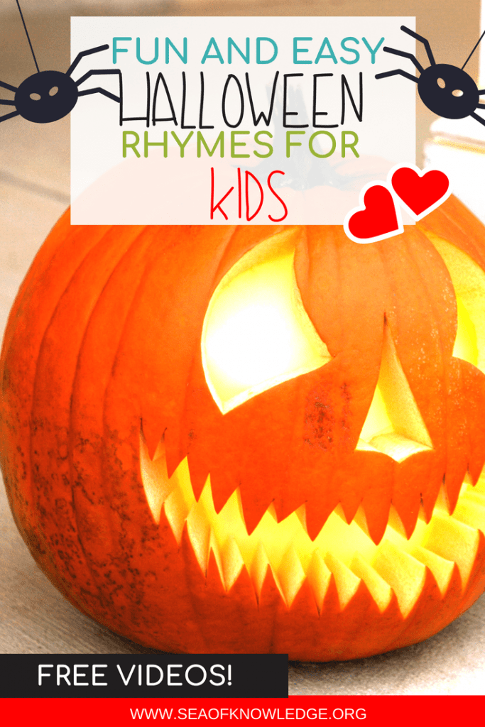 Click through to see some FREE Halloween Rhymes for Kids. These videos include fun and SPOOKY stories which are sure to engage and have your kids learning this Halloween! #Halloween #kids #teachers #free #freevideos #learning #kindergarten #ES