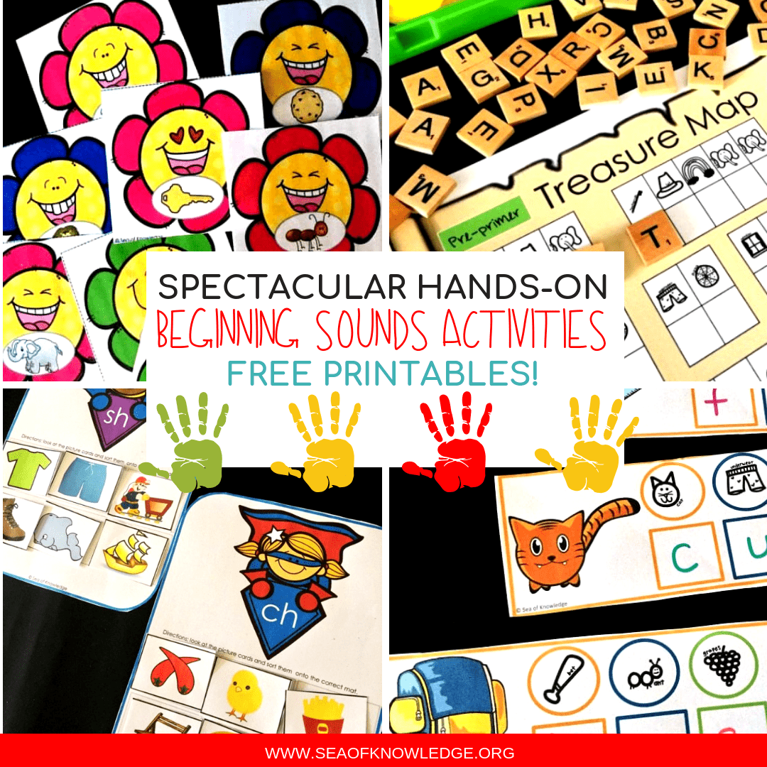 Beginning Sounds Activities Differentiated and Fantastic Free Activities!