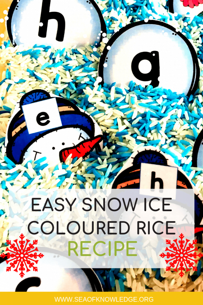 EASY Snow Ice Recipe