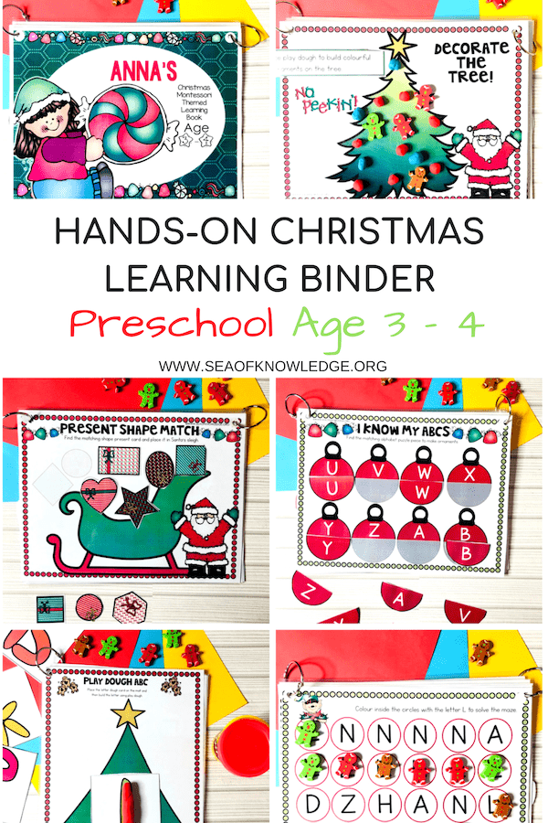 Christmas Learning Book