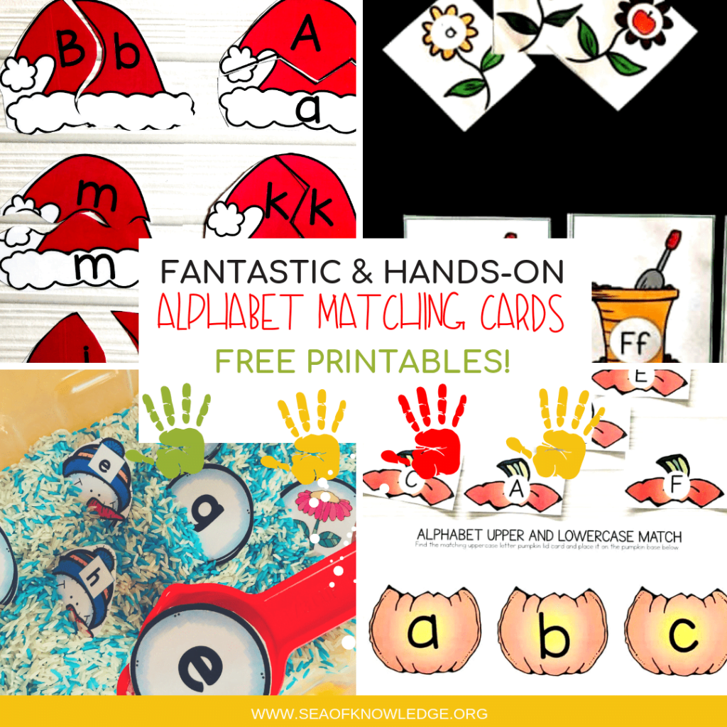 image regarding Alphabet Matching Game Printable known as Alphabet Matching Playing cards Excellent Fingers-upon Cost-free Printables!