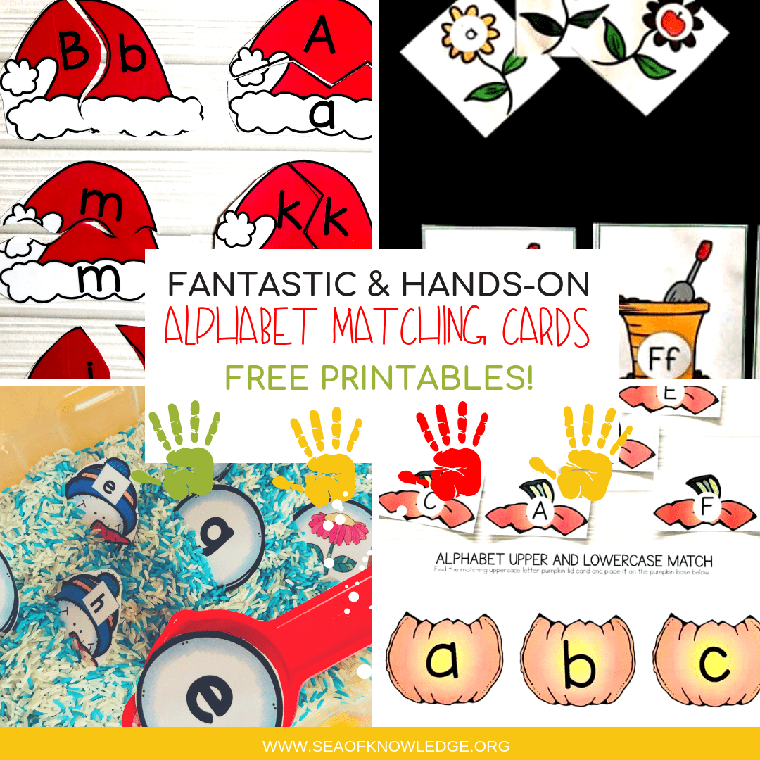 Alphabet Matching Cards Effortless Hands-on Free Printables!