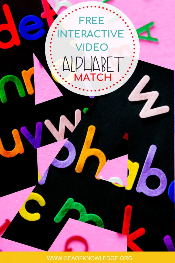 "Alphabet Matching Cards Santa Theme. FREE Puzzles! This letter learning video will help kids identify the identical matching letter. The sounds and the images will aid even little kids aged 3 and over by identifying the matching letter. From the author: ""Letter Matching is a fun educational game for kids to practice matching capital and lowercase letters. Alphabet Learning Game for Children."" #freeprintable #video #kids #christmas #teaching #teachers"