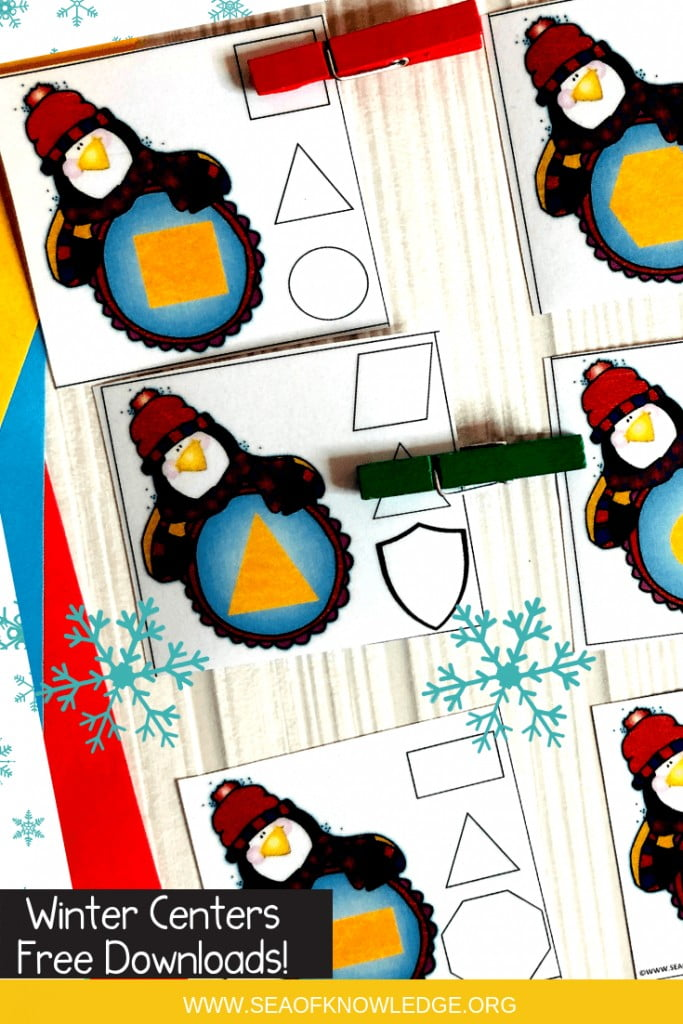 Looking for fun and engaging activities that incorporate Winter Fine Motor Skills for 3 Year Olds? These free centers are sure to get your students engaged in learning!#free #freeprintables #prechool #prek #winteractivities #teachers