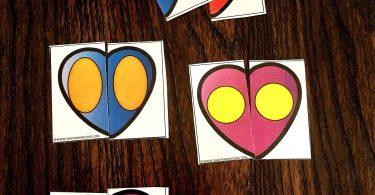 Valentine's Day Fine Motor Activities for Preschool