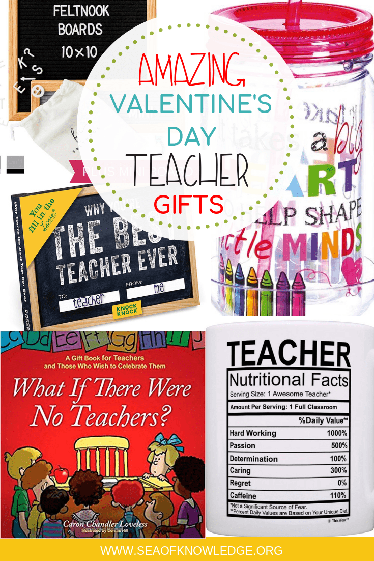 Valentine Gifts for Teachers & Funny Teacher Quotes (click for well-deserved laughs!)