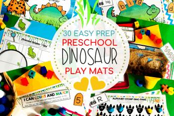 Hands-on Personalised Dinosaur Printable Learning Book – Simple Setup!