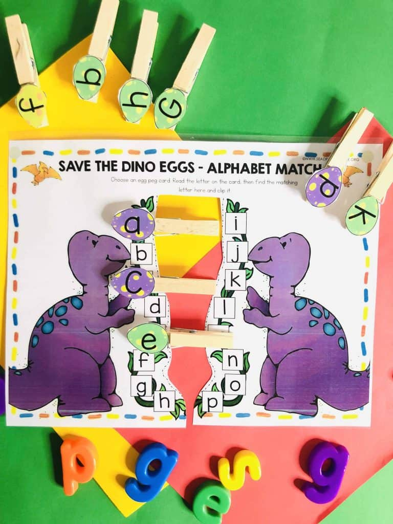 Dinosaur Busy Book Printables