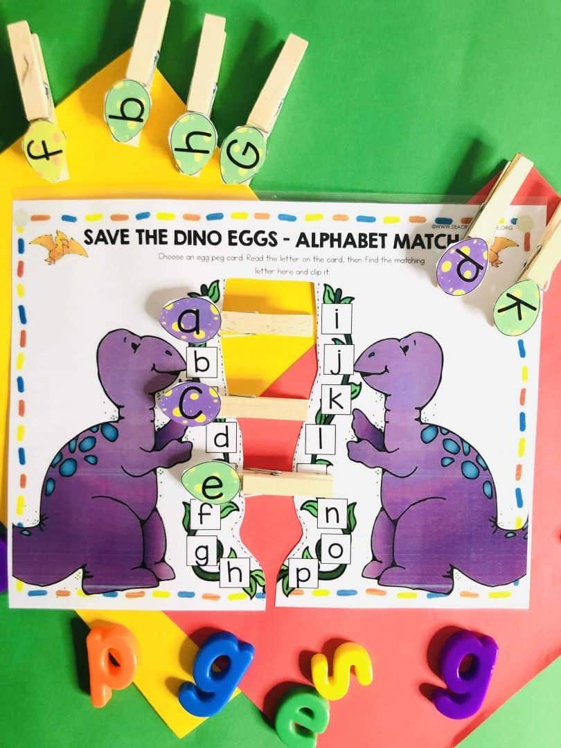 Dinosaur Busy Book Printables