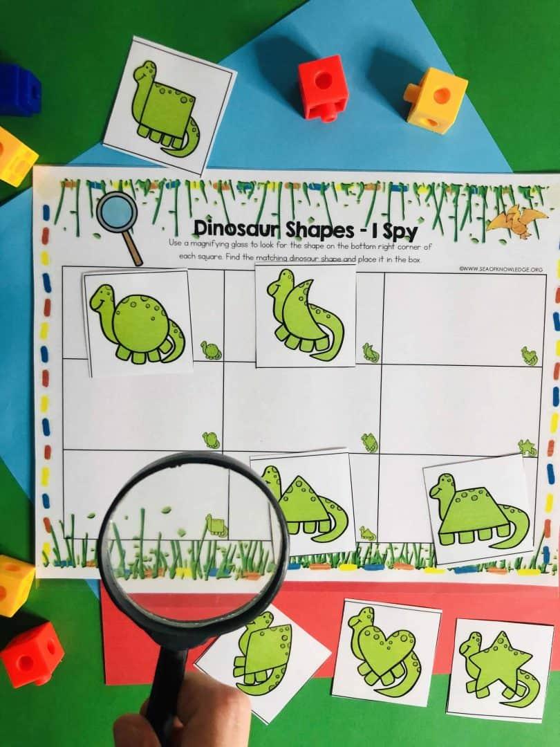 Dinosaur Learning Busy Book Preschool Age 3-5 - CUSTOM MADE