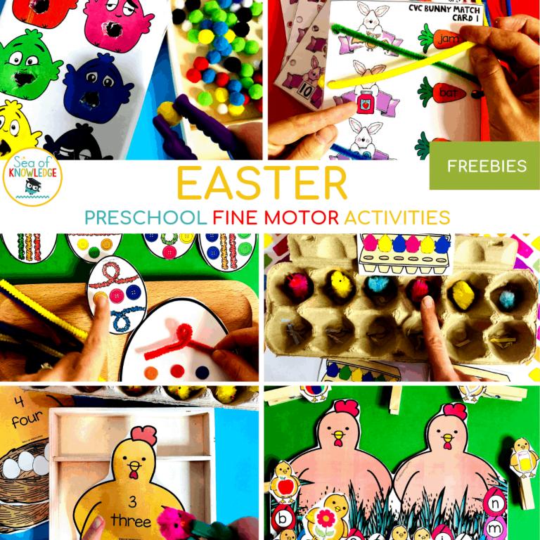 Fantastic Fine Motor Easter Centers for Preschoolers 13 (10)