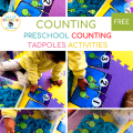Counting to 30 Activities Catching Tadpoles
