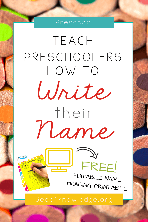 Name Tracing Activities