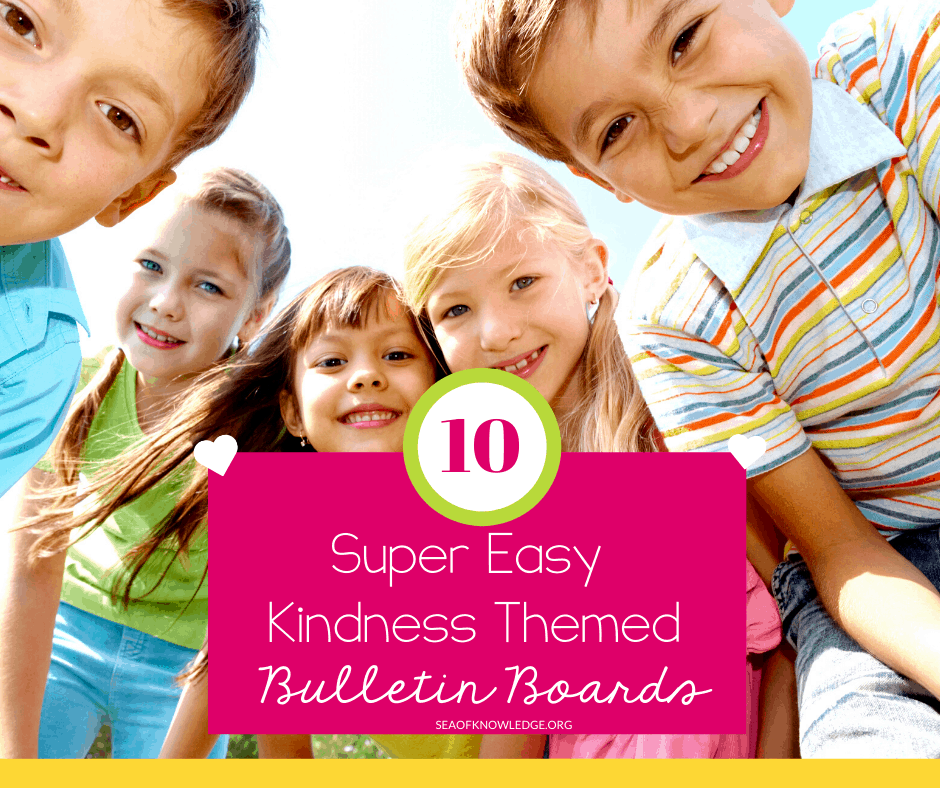 Decorate your classroom with these FREE and cute Kindness Bulletin Boards that encourage good character traits and social skills. Promote an inclusive environment with these easy and fun back to school bulletin boards.