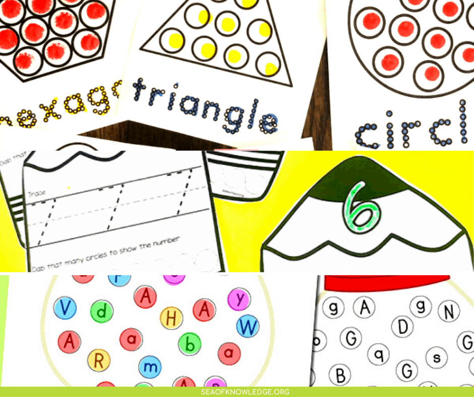 Kids will love these super fun do a dot printables! Did you buy some bingo dot markers and aren't sure what to use them for? These printables will make the perfect addition to those markers. The best part about these printables is that you can basically print and go!
