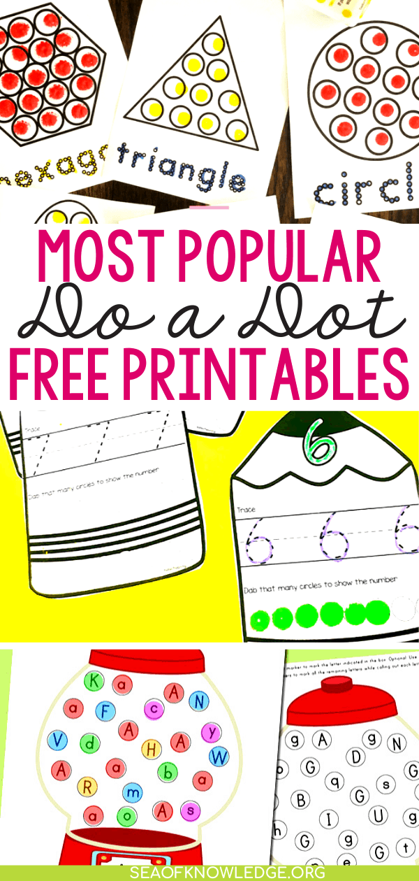 Do a Dot Printables.