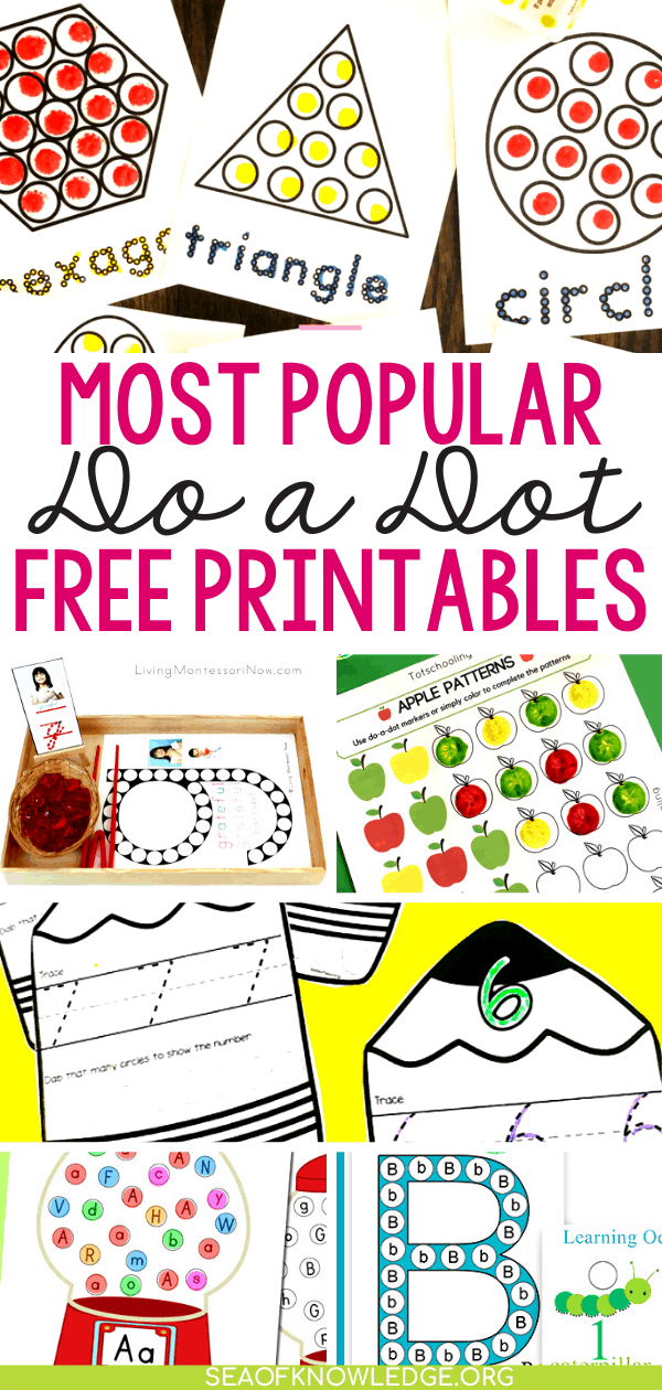 Do a Dot Printables