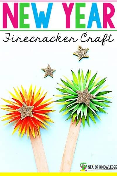 Firecracker New Year's Craft