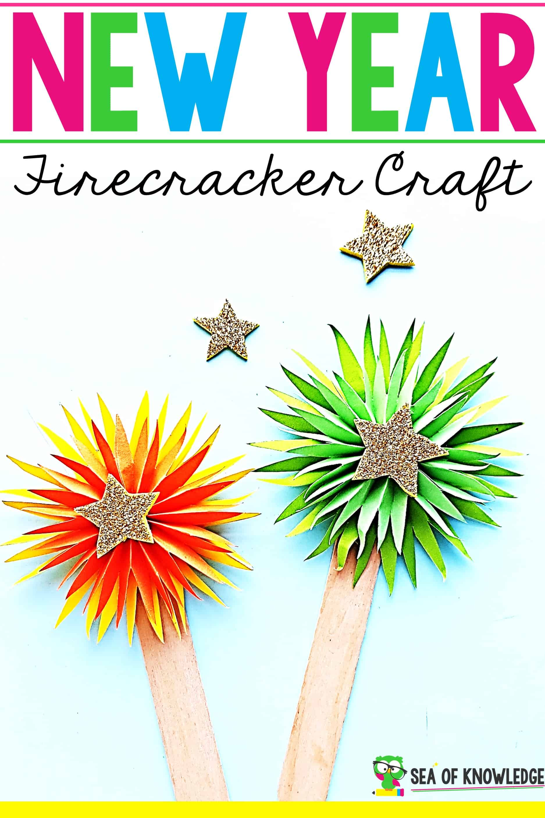 Firecracker New Year's Craft
