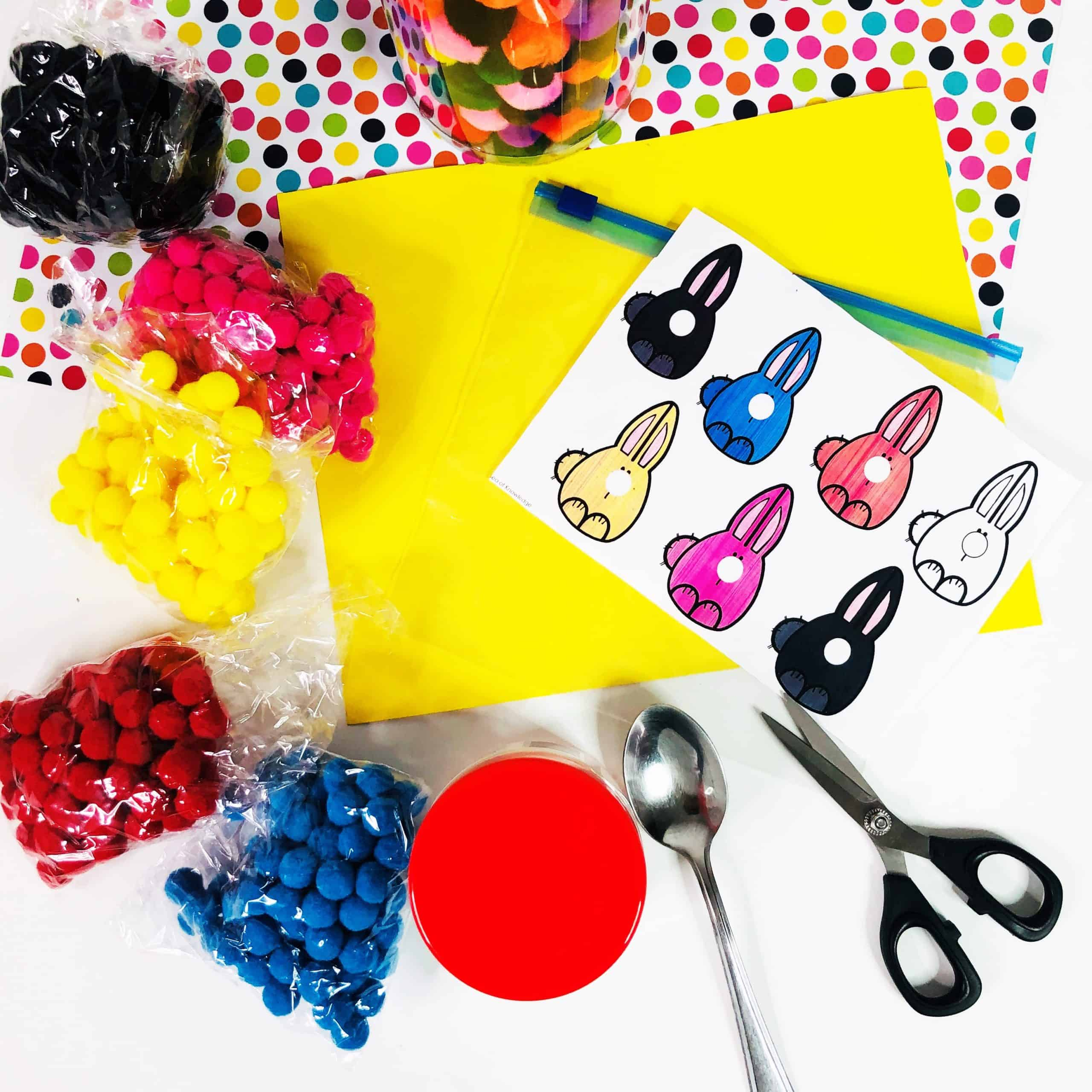 This fun little sensory bag was a hit with my little learners - and I'm sure it'll be the same for you! Bunny Noses Sensory Bag Colour Sorting is a great way to engage toddlers and preschoolers with the concept of sorting AND colour recognition.