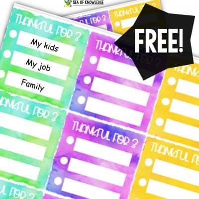 Grateful Planner Stickers