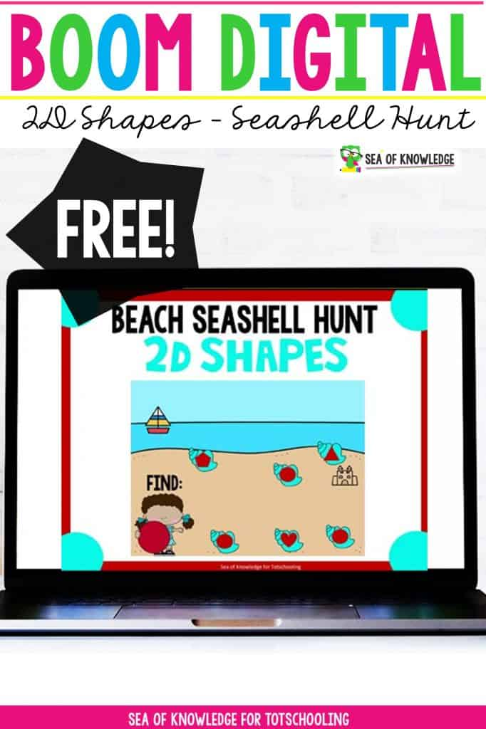 These super fun 2D Shapes Digital Activity Seashell Hunt Cards are perfect for distance learning. These digital task cards will be a hit with your students! The best part? They are self-correcting and can be used on any device like iPads, tablets computers and more.