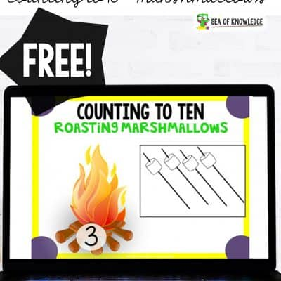 Counting to 10 Marshmallow Roast Boom Digital