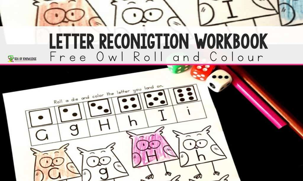 What better way to get some new, fun and exciting alphabet printables than using some owl themed roll and color printable pages?! These Alphabet Roll and Color Owl Themed activity pages are so much fun to use! They require zero prep and are quite easy to set up!