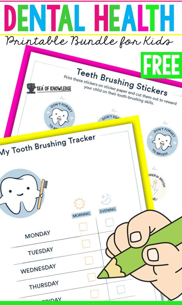 Establishing healthy oral hygiene habits at a young age is so important in developing healthy smiles for years to come. This is why Dental Health printable Activities come in handy.
