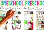 Printable-Activities-Homeschool-Preschool