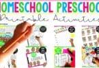 Printable-Activities-Homeschool-Preschool